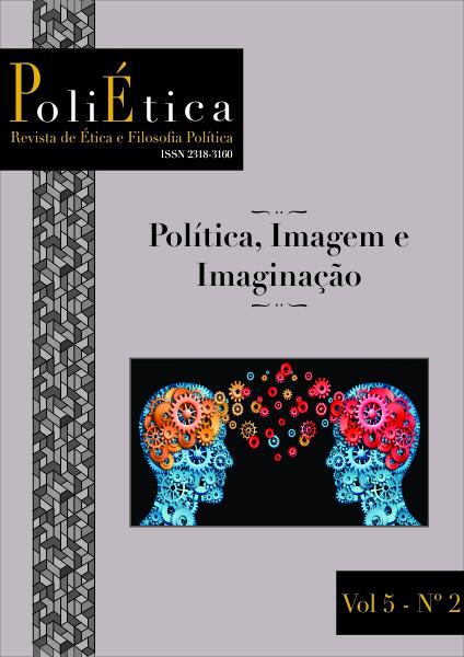 Capa da Revista Poliética Vol. 5 Num. 2 - Política, Imagem e Imaginação