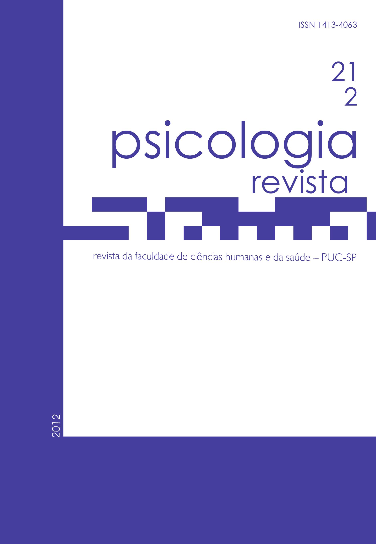 Psicologia Revista 21-2