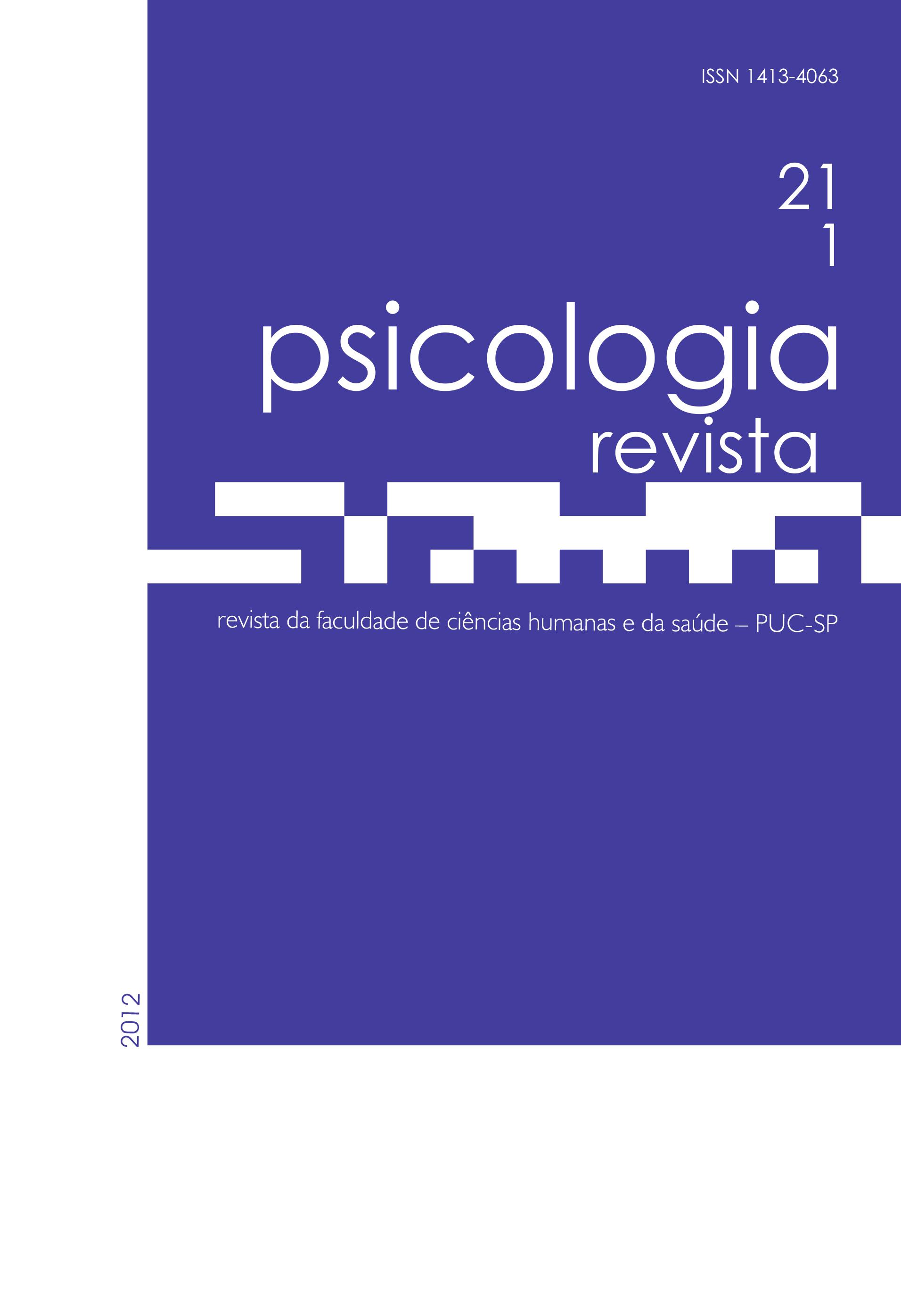 Psicologia Revista 21-1