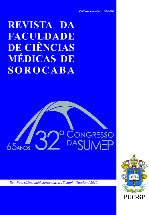 v. 17, Supl., out. 2015. 32º Congresso da SUMEP
