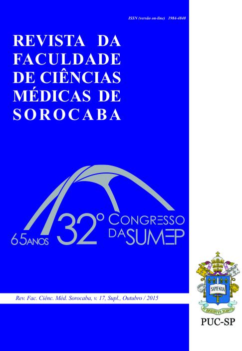 v. 17, Supl., out. 2015. 32º Congresso da SUMEP