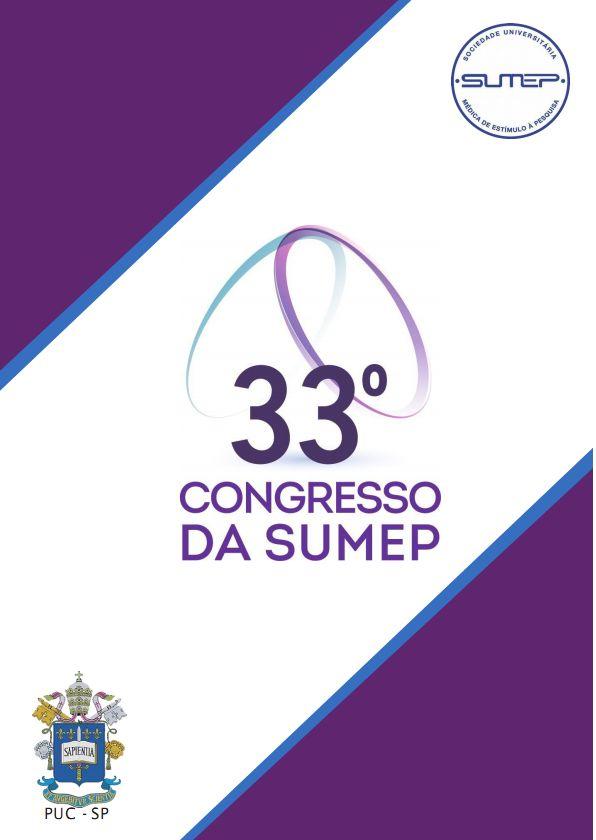 v. 18, Supl., out. 2016. 33º Congresso da SUMEP
