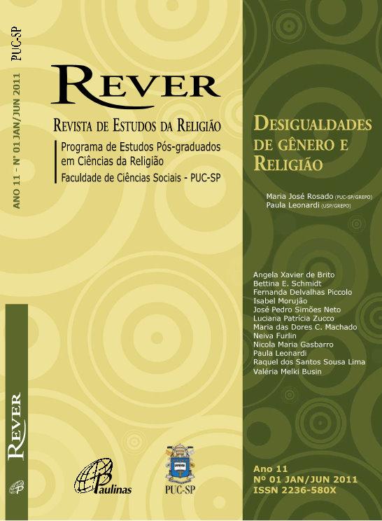 Rever - 1-2011 - Desigualdades de Gênero e Religião